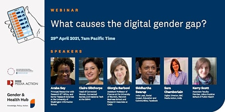 Gender and Digital Health  Webinar Series tickets