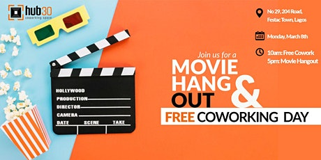 MOVIE HANGOUT PLUS FREE COWORKING DAY ! tickets