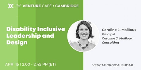 Disability Inclusive Leadership and Design tickets