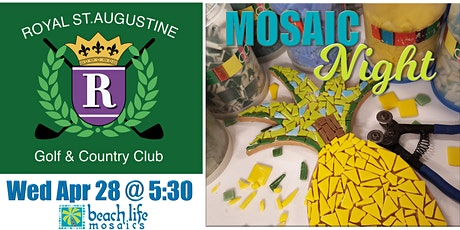Crafts & Drafts - Mosaic Night in St. Augustine tickets