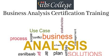 Business Analyst Program - Making tomorrow better tickets