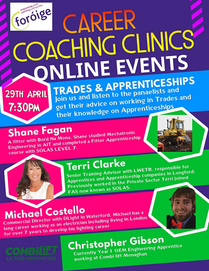 Foróige Careers Coaching Clinic - Trade & Apprenticeships image