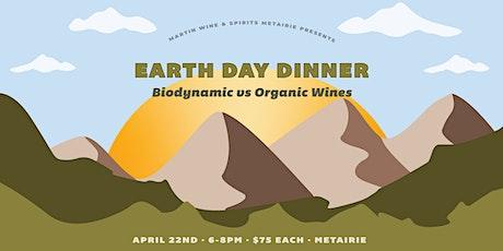 Earth Day Dinner: Biodynamic vs Organic Wines tickets