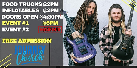 Brian Welch Event  (5pm Time Slot) tickets
