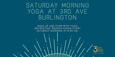 Saturday Morning Yoga at 3rd Ave Burlington tickets