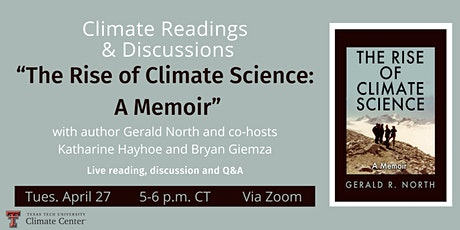"Climate Readings & Discussions - ""The Rise of Climate Science"" tickets"