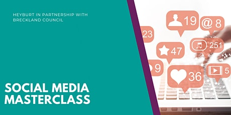 Social media masterclass tickets