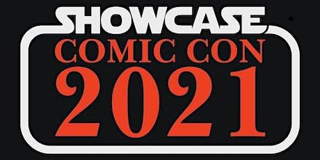 Showcase Comic Con 3 tickets