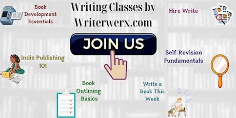 Free Writing Classes (virtual) tickets