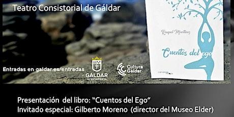 Presentación del libro 'Cuentos del Ego' de Raquel Martínez tickets