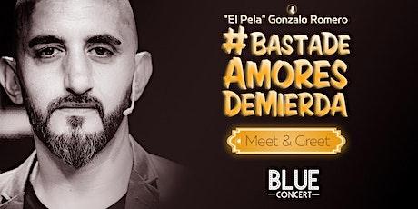 El Pela Gonzalo Romero #BastaDeAmoresDeMierda ZONA OESTE entradas