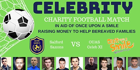 Once Upon a Smile Celebrity Charity Football Match - Hyde FC tickets