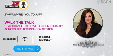 Walk the Talk: Real Change to Drive Gender Equality tickets