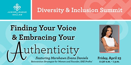 Finding Your Voice – Embracing Your Authenticity tickets