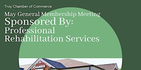 May General Membership Meeting tickets