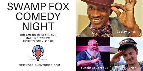 Swamp Fox Comedy Night with CeeJay Jones and Yuncl tickets