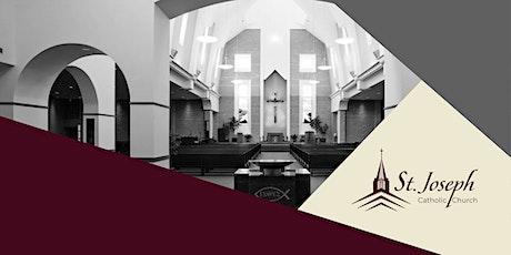 8:00 AM Mass- Sunday, April 18, 2021 tickets