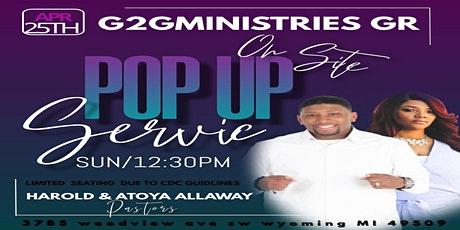 Glory To God Ministries GR POP - UP SERVICE tickets
