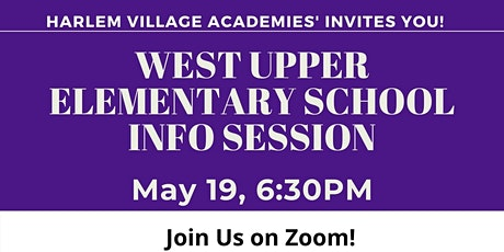 West Upper Elementary Info Session - Grades 3-5 tickets