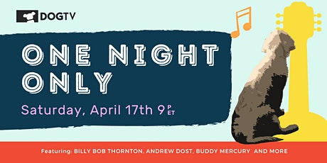 One Night Only: A Night Celebrating Dogs, Music and DOGTV tickets