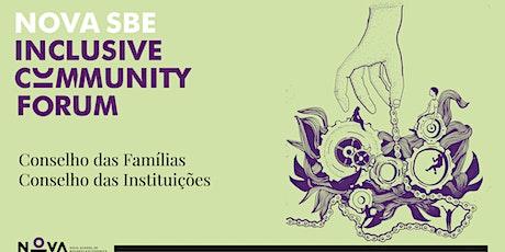 Sessão dos Conselhos das Famílias e das Instituições do ICF - ONLINE bilhetes