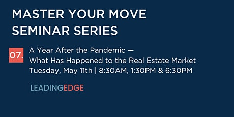 A Year After the Pandemic—What Has Happened to the Real Estate Market tickets