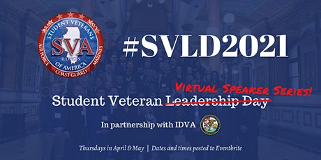 Student Veteran Leadership Virtual Speaker Series tickets