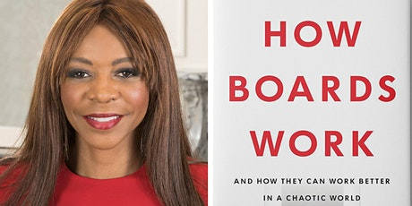 Hear Dambisa Moyo on how boards work – and don't. And must. tickets