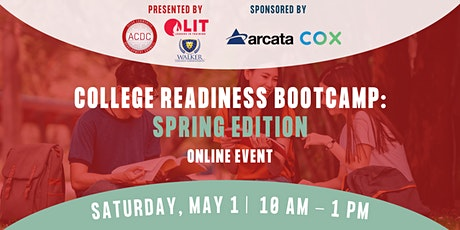 Spring College Readiness Bootcamp 2021 tickets