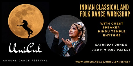 Indian Classical and Folk Dance Workshop-The Foundation of Bharata Natyam tickets