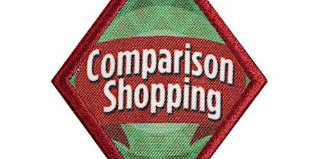 Cadettes! Comparison Shopping badge class by Chef Angela tickets