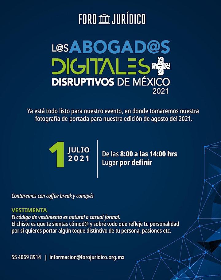 Imagen de Los Abogados Digitales más Disruptivos de México 2021