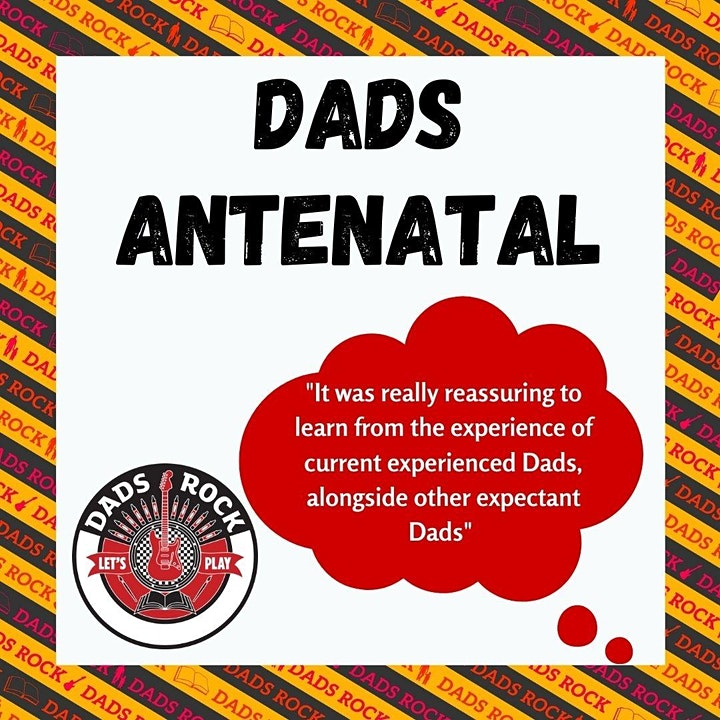 Antenatal Workshop for Dads to be - Online  image