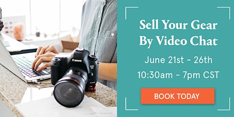Sell your camera gear - Virtual event with The Camera Store tickets