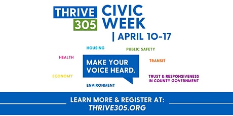 Thrive305 Community Discussions at The Carrie Meek Foundation tickets