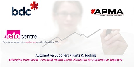 Post-Covid Financial Challenges for SME Automotive Suppliers tickets