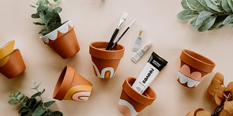 Mind Your Beads & Seeds: Paint Pots & Sip tickets