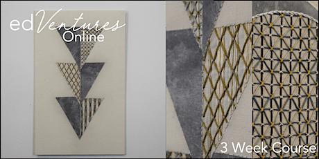 Geometric Lace Embroidery - Jessica McDonald tickets