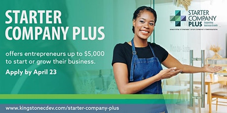 Starter Company Plus Information Session tickets