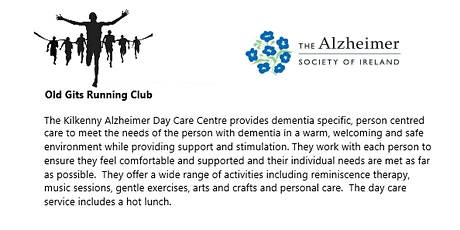 Old Gits Running Club Virtual 5km/10km in aid of Kilkenny Alzheimers Centre tickets