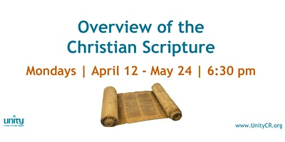 Overview of the Christian Scripture (new start date)