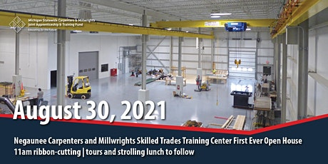 Union Carpenters and Millwrights Skilled Training Center Open House tickets
