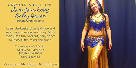 Belly Dance Classes in West End Halifax tickets