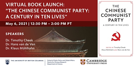 "Online Book Launch Event: ""The Chinese Communist Party"" Tickets"