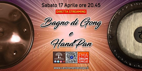 Bagno di Gong e HandPan in diretta Streaming entradas