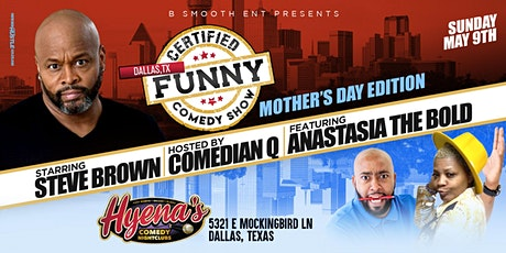 Dallas Tx Certified Funny Comedy Show Starring Steve Brown tickets