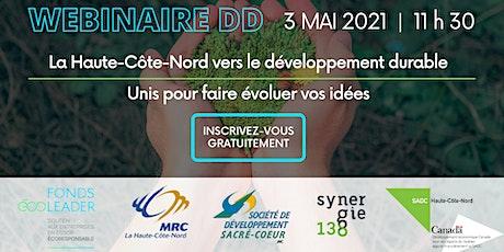 Séance d'information | La Haute-Côte-Nord vers le développement durable billets