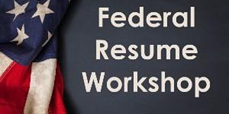 Federal Resume Workshop tickets
