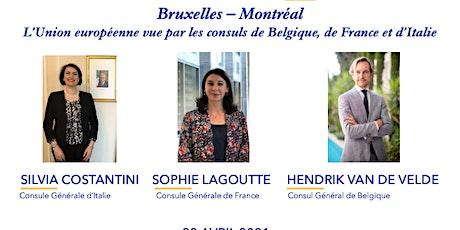 L'Union européenne vue par les consuls de Belgique, de France et d'Italie billets
