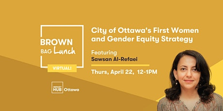 City of Ottawa's First Women and Gender Equity Strategy tickets